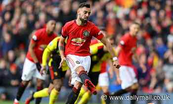 Manchester United 3-0 Watford: Bruno Fernandes scores first goal for Ole Gunnar Solskjaer's men