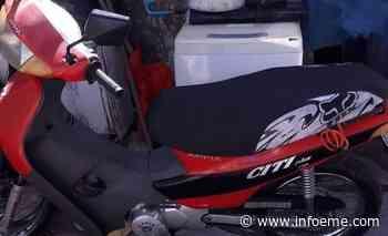 Robaron una moto en el barrio Jardín - Infoeme
