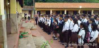 Cordillera: se inician clases, pero niños del jardín no recibieron útiles - Nacionales - ABC Color