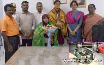 Two girls in TN's Aranthangi develop nano satellite - The Hindu