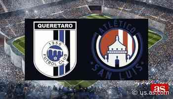 Gallos Blancos vs Atlético San Luis en vivo y directo, Liga MX Clausura 2020 - AS Usa