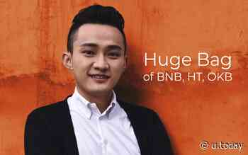 Tron CEO Justin Sun Reveals Holding 'Huge Bag' of BNB, HT, OKB - Will Huobi and OKEx Become New Tron SRs? - U.Today