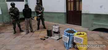 Felcn incauta 13 kilos de marihuana en operativos en Sucre y Aiquile - Correo del Sur