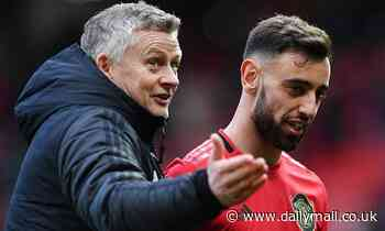 Ole Gunnar Solskjaer lauds Bruno Fernandes after he grabs his first goal for Manchester United