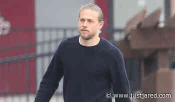 Charlie Hunnam Goes Casual for Saturday Morning Errands - Just Jared