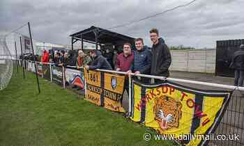 ON THE ROAD: Worksop Town, the World's fourth oldest club are on the brink after 160 years