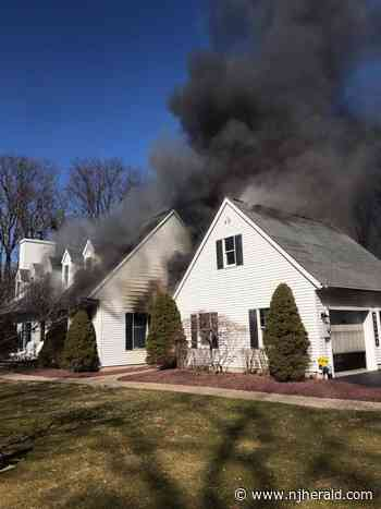 Fire damages section of Hampton home - New Jersey Herald