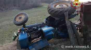 Ad Alonte, morto un agricoltore, finito sotto al suo trattore - TGR – Rai