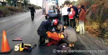 Arrollan a una mujer en Xochitepec - Diario de Morelos
