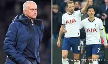 Jose Mourinho called former Tottenham striker this week to solve injury crisis - Express