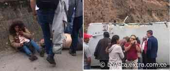 Terrible accidente en la vía Sesquilé - Tunja, en la zona conocida como La curva del tigre - Extra Boyacá