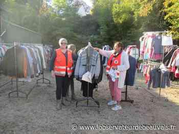 Mouy. Distribution de la Croix Rouge. - L'observateur de Beauvais