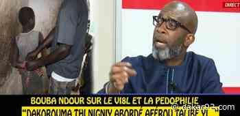 Vidéo – Bouba Ndour : « Kou bayi khalé mouy dokh ba 4h bougne ko vi0lé waro wakh ndakh - Dakar92