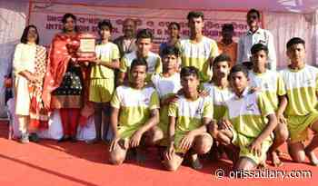 JSPL Foundation Organises Inter High School Kho-Kho & Kabaddi Tournament - Odisha Diary