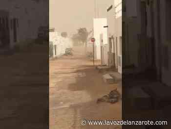 Alerta de viento y calima en La Graciosa - La Voz de Lanzarote