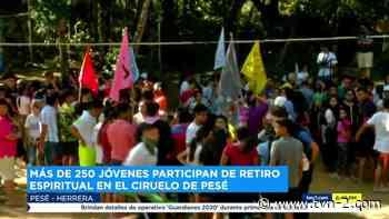 Jóvenes participan de retiro espiritual - TVN Panamá