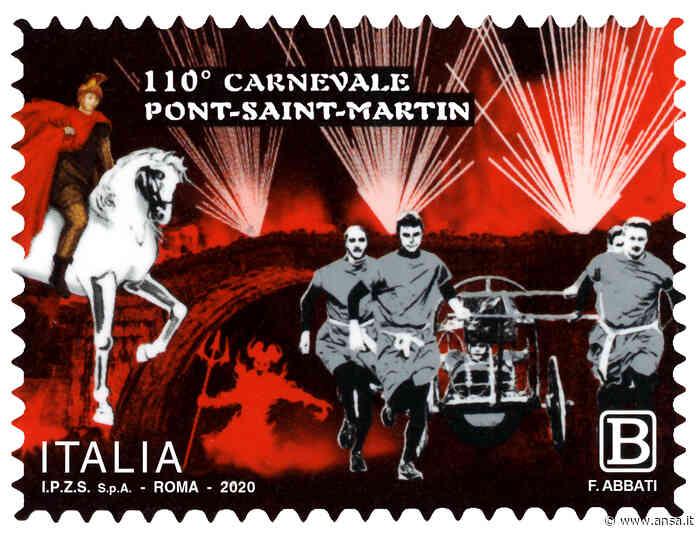 Un francobollo per Carnevale Pont-Saint-Martin - Valle d'Aosta - Agenzia ANSA