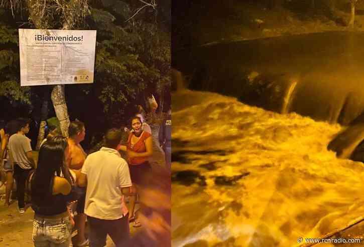 Una persona muerta dejó fuerte creciente de un río en Viotá - RCN Radio