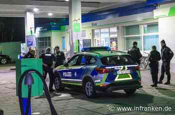 Strullendorf: Großfahndung nach Überfall auf Tankstelle - Polizei warnt vor bewaffnetem Täter - inFranken.de