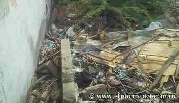 En antigua cárcel de Ciénaga siguen quemando basura a cielo abierto - El Informador - Santa Marta