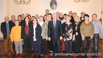 précédent Michel Arnould, maire sortant de Verberie, a présenté sa liste - Courrier picard