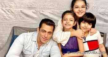Salman Khan adds a dash of cuteness to Monday as he poses with Dabboo Ratnani's kids in an adorable BTS photo - PINKVILLA
