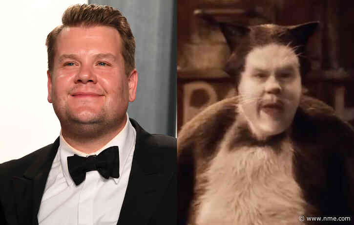 "James Corden says he ""doesn't regret"" doing 'Cats' — rates musical ""five out of 10"""