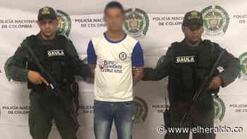 Capturan en Montería sindicado de extorsión - El Heraldo (Colombia)