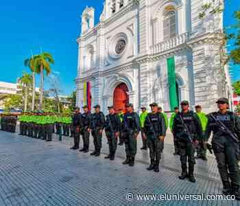 55 policías de tránsito regularán movilidad en Montería   EL UNIVERSAL - Cartagena - El Universal - Colombia