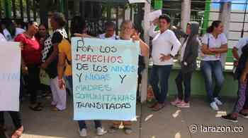 Por tercer día consecutivo madres comunitarias protestan en Montería - LA RAZÓN.CO