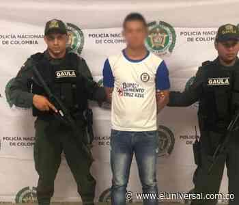 Venezolano estaba presuntamente extorsionando a comerciantes de Montería - El Universal - Colombia