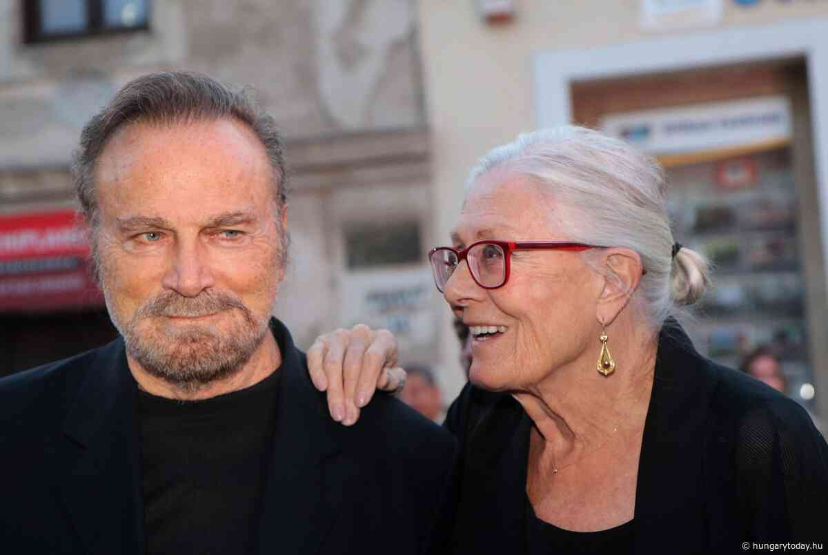 Vanessa Redgrave and Franco Nero Receives CineFest Award at Miskolc Festival - Hungary Today - Hungary Today