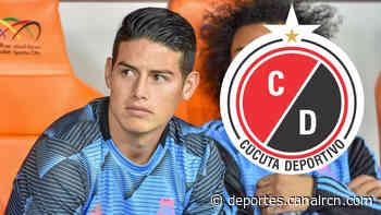 ¿James Rodriguez quiere comprar al Cúcuta Deportivo? El presidente del equipo respondió - Deportes RCN