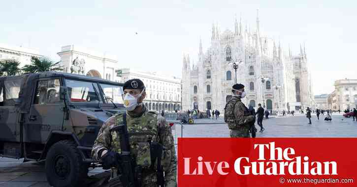 Coronavirus: seventh person dies in Italy amid confusion over death toll in Iran – live updates