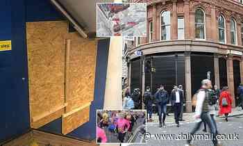 Two Romanian burglars who stole £300,000 in gems from a Fleet Street jewellers