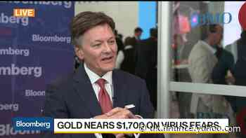 AngloGold CEO Won't Rule Out $2,000 an Ounce Gold Price
