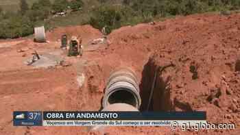 Obras para conter avanço da voçoroca em Vargem Grande do Sul devem acabar em outubro - globo.com