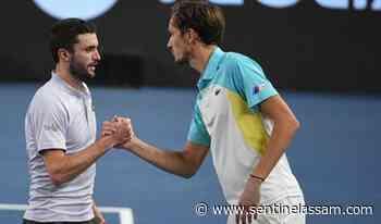 Gilles Simon stuns Medvedev to reach Daniil Marseille semis - The Sentinel Assam