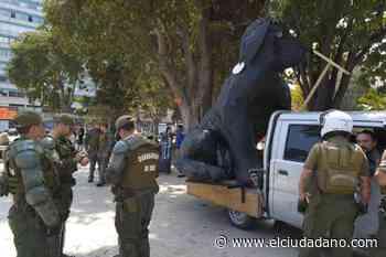 Carabineros impidió que el Negro Matapacos llegara a la Quinta Vergara - El Ciudadano