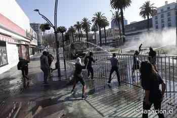 Violentos incidentes en las cercanías de la Quinta Vergara ad portas del inicio del Festival - La Nación (Chile)