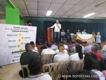 Gobernador visitó Marulanda y Aranzazu - BC Noticias