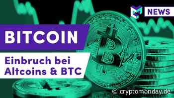 Bitcoin Kurs Einbruch & Altcoin Rasur | Ethereum & DeFi Hack | XRP Flash-Crash BitMEX | IOTA Update - CryptoMonday