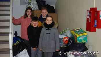 Roost-Warendin: les enfants s'investissent dans une opération de recyclage - La Voix du Nord