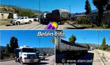 Camioneros varados en Belén bloquean la ruta en protesta - El Ancasti Editorial