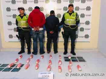 En Túquerres, encaletaron 38 kilos de coca en un carro - Extra Pasto