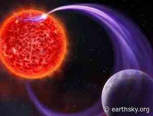 Using radio waves to discover and study exoplanets - EarthSky