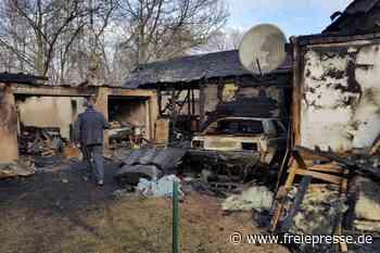 Vier Menschen nach Hausbrand in Freiberg im Krankenhaus - Freie Presse