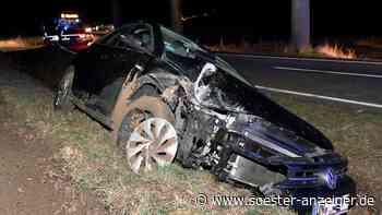 Unfall in Warstein: Eingeklemmte Person gemeldet - Soester Anzeiger