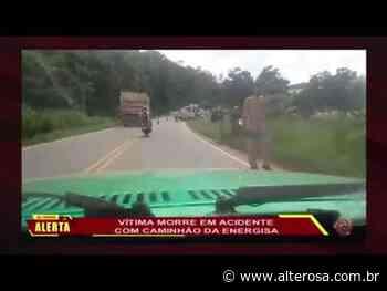 Visconde do Rio Branco: Vítima morre em acidente com caminhão da Energisa - TV Alterosa
