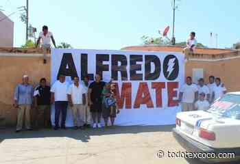 Transportistas de Llano Largo se suman al proyecto de Alfredo Mate - todotexcoco.com